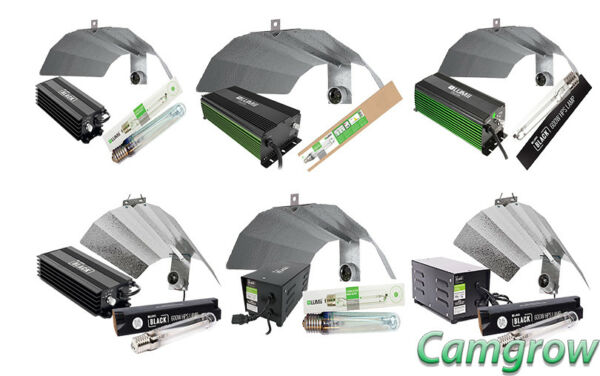 LUMii Magnetic & Digital & Digita  600W & 1000W  HPS Light Kits Hydroponics