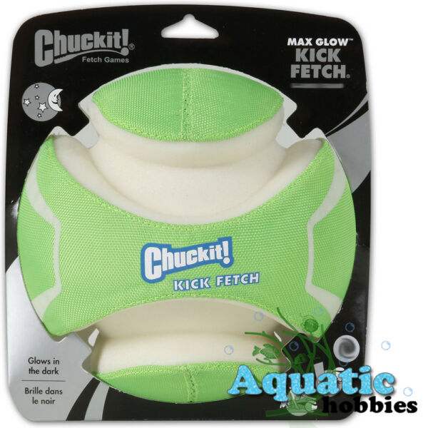 Chuckit Kick Fetch Max Glow Small Toy For Dog & Puppy