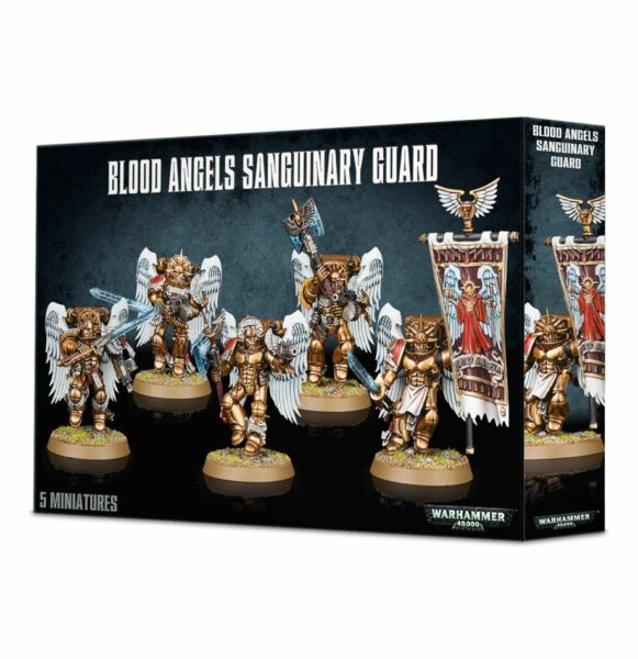 Blood Angels Sanguinary Guard Space Marines Warhammer 40K NIB Flipside