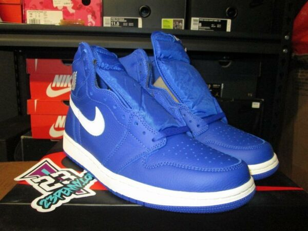SALE AIR JORDAN 1 HIGH RETRO HYPER ROYAL BLUE WHITE SZ 8.5-14 NEW 555088 401 I