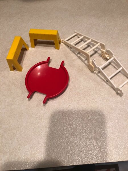 Vintage Fisher Price Sesame Street Accessories For Playset $9.99