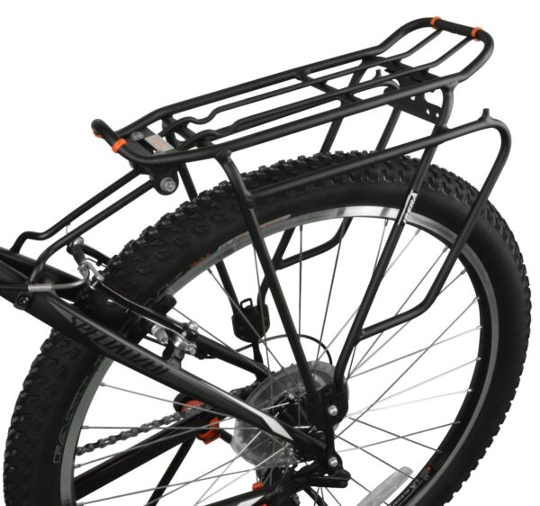 Ibera Bike Rear Rack Touring Carrier Plus for Non Disc Brake Mount 26quot; 29quot; Bikes $37.99