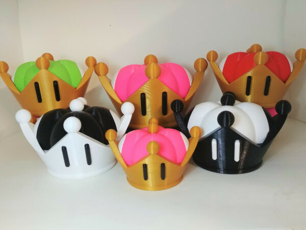 Bowsette Crown Super Crown  Super Mario Bros Bowsette Cosplay