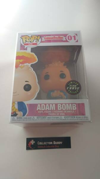Limited Glow Chase Funko Pop! Garbage Pail Kids 01 Adam Bomb GPK Pop Vinyl