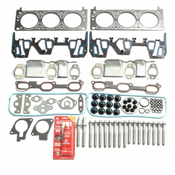Head Gasket Bolts Set Kit Fits 96-05 Chevrolet Pontiac Oldsmobile 3.1L 3.4L