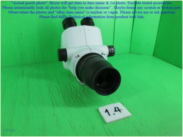OLYMPUS SZ51 Missing eyepieces  Rubber broken as photo sn:4777 dφm