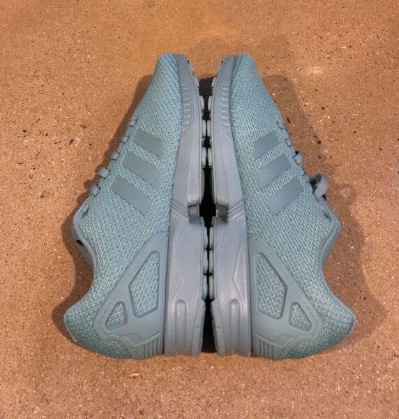 Adidas ZX Flux Size 12 US Men's Mint Green Running Shoes Sneakers