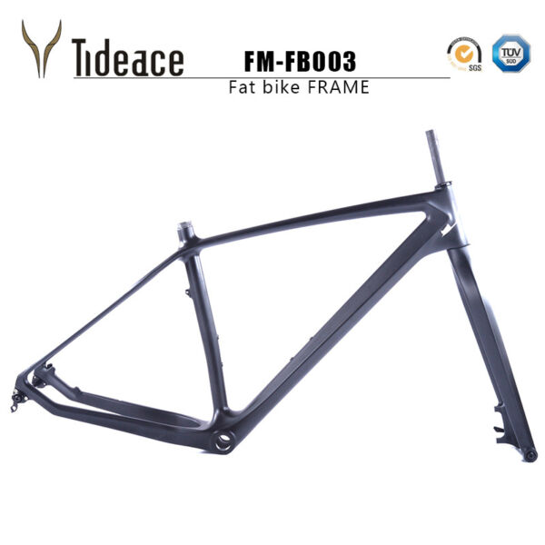 26er Full Carbon Fiber Fat Bicycle Frames 161820 Carbon BSA Snow Bike Frameset
