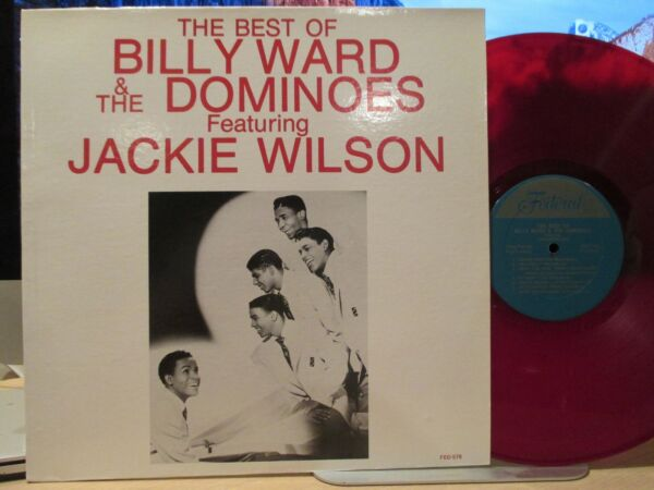 BILLY WARD amp; The Dominoes – The Best of featuring JACKIE WILSON Federal 578 LP