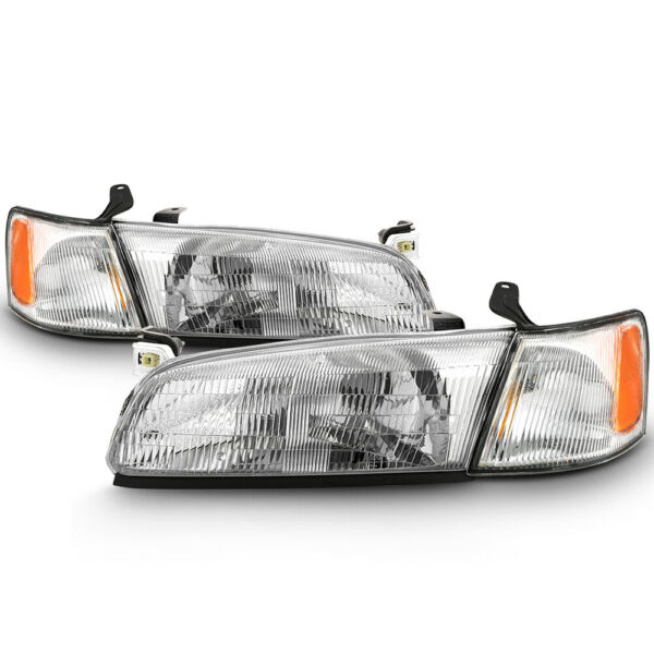 For 97-99 Toyota Camry FACTORY STYLE Replacement Headlight Assembly LEFT RIGHT