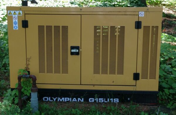 Olympian Natural Gas Standby Generator 15KW $4200.00