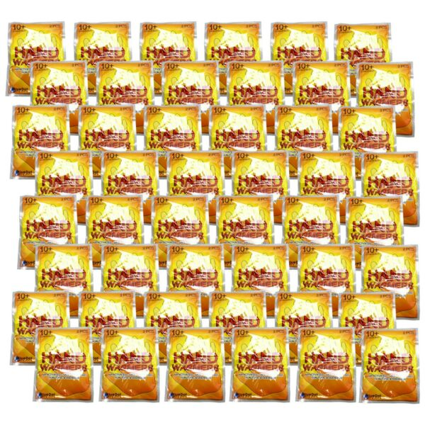 1 FULL Case of Handwarmers Hand Warmers 96 total warmers 48 pairs BULK Lot