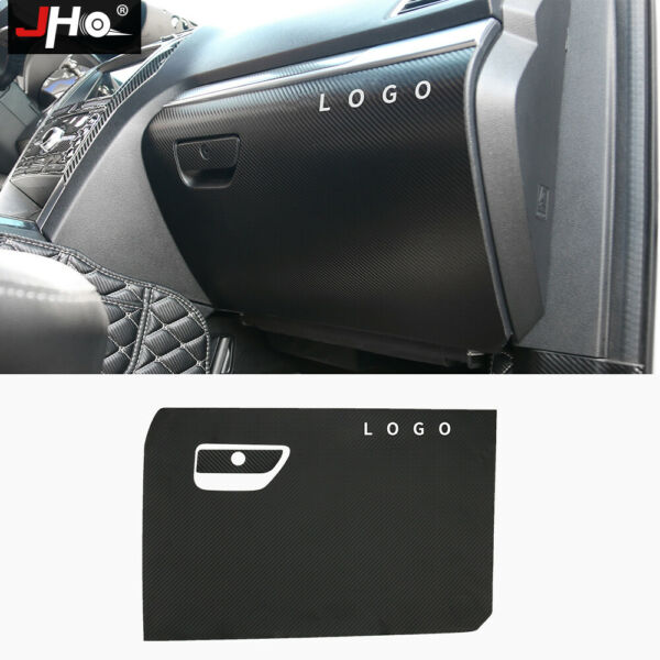 Leather Carbon Grain Front Storage Glove Box Stickers For Ford Explorer 2011 19 $24.44