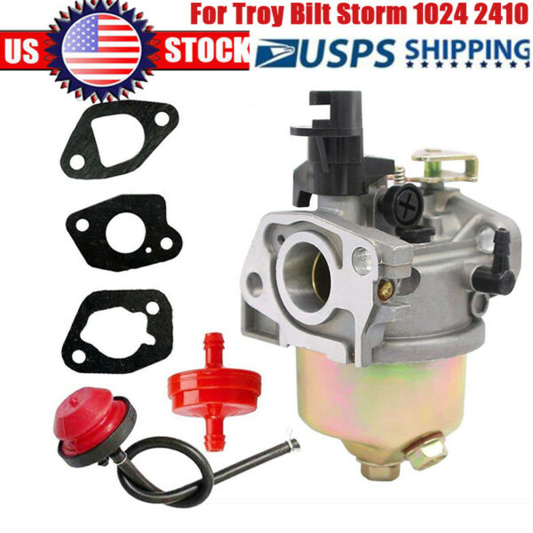 Carburetor for Craftsman 179CC MTD 208CC Troy Bilt Storm 1024 2410 Snowblower OM