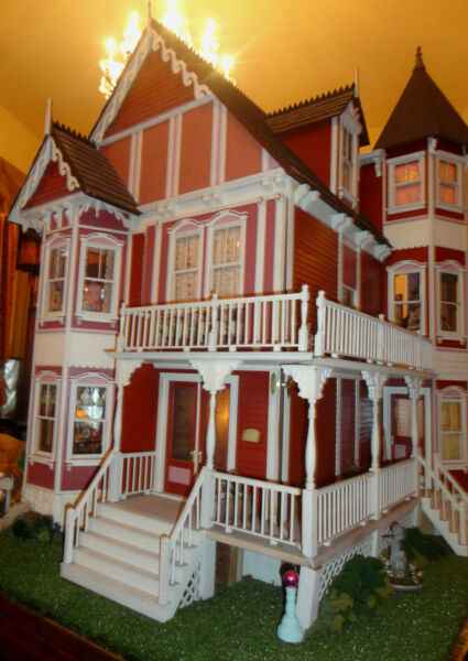 Doll House House of Broel By Artist Bonnie Broel