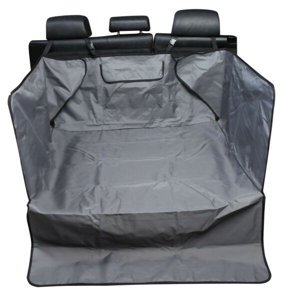 Universal Car Seat Cover Pet Cargo Liner Cover for Dogs SUVs Trucks Grey $19.99