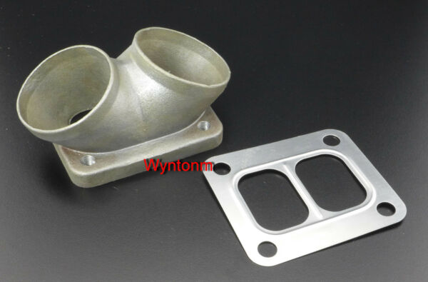 T4 Turbo Divided Inlet FLANGE Twin 2.5