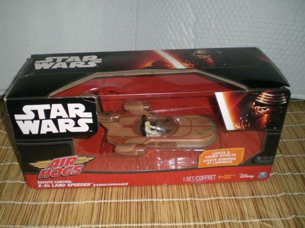 Star Wars Landspeeder Remote Control Air Hogs Toy RC New! Free Shipping!