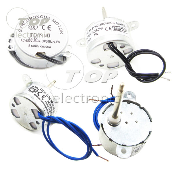 TYC-3040 612V AC SYNCHRONOUS MOTOR 5RPM Optical flower Decoration