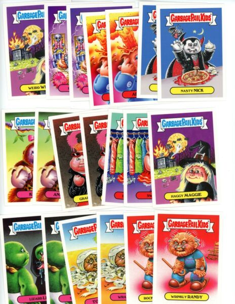 2018 Topps GPK Memes Complete A & B Set 20 Cards Garbage Pail Kids Only 500 Made