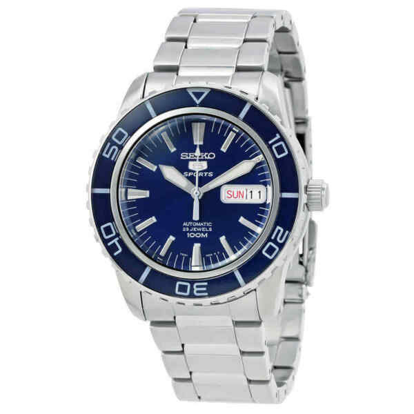 Seiko Fifty Five Fathoms Automatic Blue Dial Men's Watch SNZH53