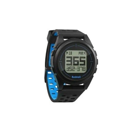 Bushnell Golf Ion 2 GPS Range Finder Watch - Black/Blue
