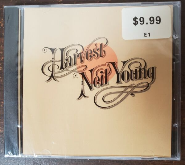 NEIL YOUNG - HARVEST -NEW-CD free shipping
