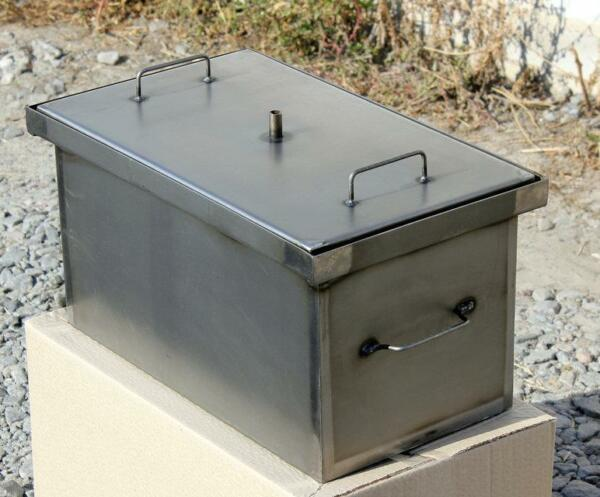 BBQ Smoker Barbecue Grill Outdoor Portable Meat Smok Cooker Home Wood Steel