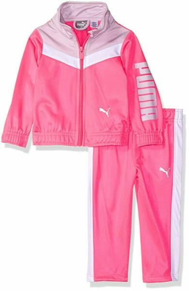 PUMA Baby Girls#x27; Jacket and Pants Set