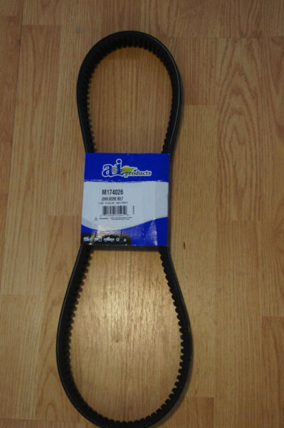 Replacement for JOHN DEERE GATOR COGGED DRIVE BELT M174026