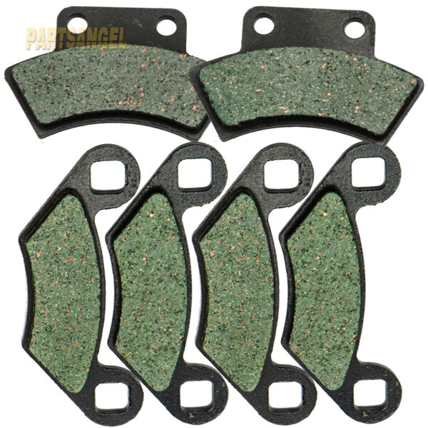 Front Rear Carbon Brake Pads For Polaris Magnum 425 2X4 4X4 1995 1996 1997 1998 $12.65