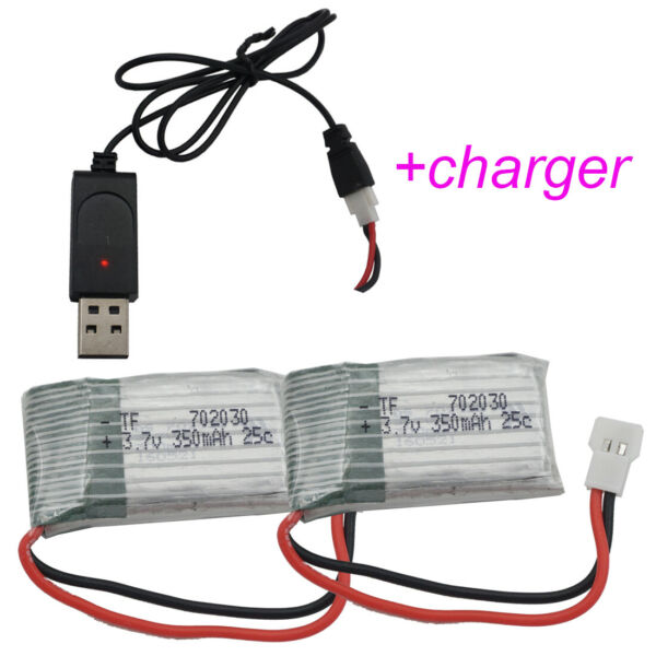 3.7V 350mAh 25C LiPo Polymer Li ion battery 702030 for Syma X5C Drone Helicopter