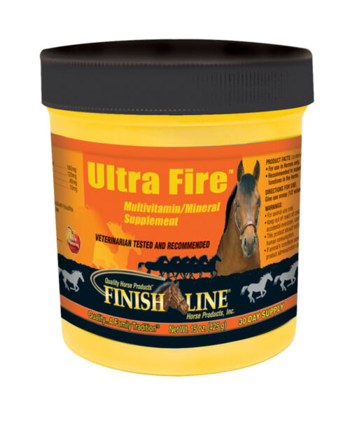 Finish Line Horse Products Ultra Fire Vitamin  Mineral Supplement