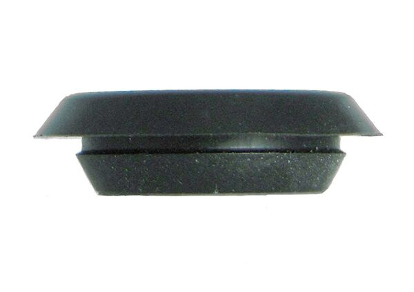 BPF- Flush Mount Black Plastic Body n Sheet Metal Hole Plugs - Size 14