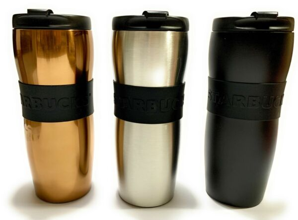 Starbucks Coffee Stainless Steel LUCY Slim Travel Mug Tumbler - Tall Size -12oz
