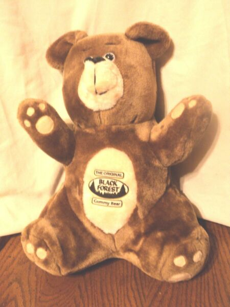 The Original Black Forest Gummy Bear Plush Candy Advertising 13