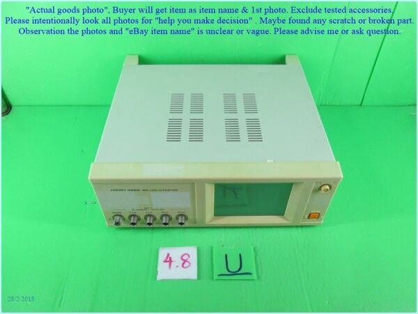 Hioki 3522-50 LCR Hitester Bad linedot as photo sn:3351 dφm chk