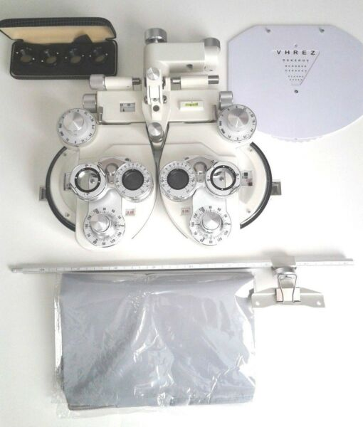 White New Optical Phoropter White Minus Cylinder Refractor Optometry