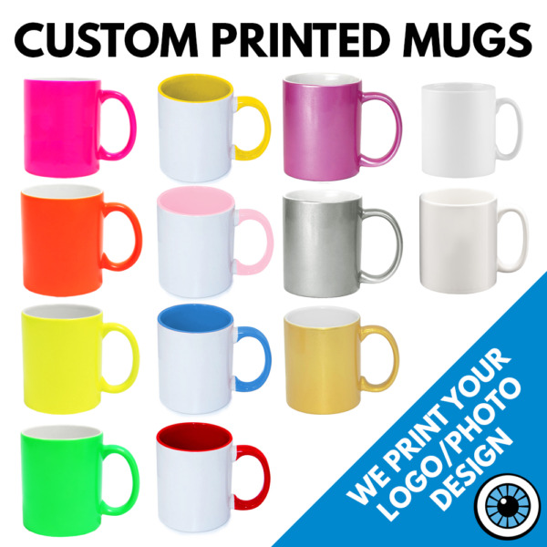 Custom Printed Mug • Personalised Print Cup Christmas Gift Image Text Photo Mugs