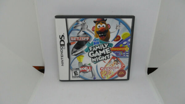 Hasbro Family Game Night Nintendo DS 2009 Complete