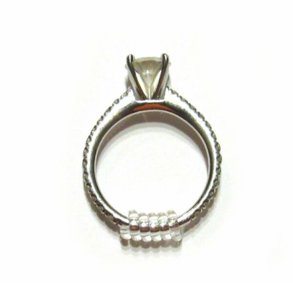 Easy Ring Adjusters Quickly fit the size of your ring band 3 sizes...