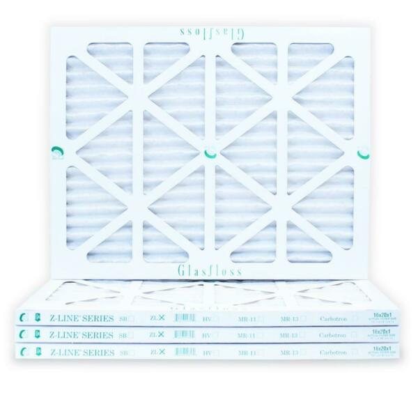 16x20x1 Air Filter ZL Series MERV 10 Case of 4 AC Furnace Filters by Glasfloss $32.98