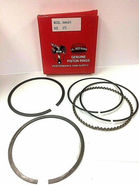 PISTON RINGS REPLACES ONAN 0113 0310 STD. RING SET FITS P 216 218 220 NEW