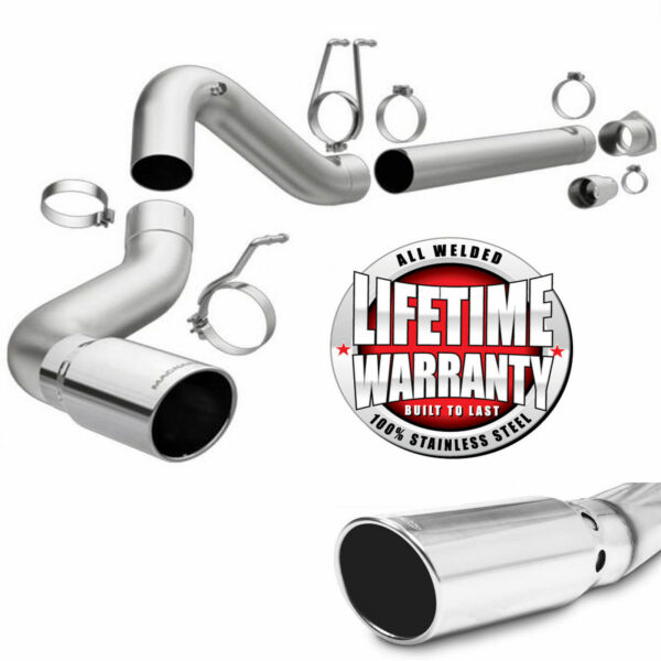 Magnaflow 17872 Stainless 5quot; DPF Back Exhaust for 2008 2019 Ford Powerstroke