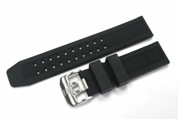 Luminox 23mm FP.L.ES Watch Rubber Band Strap NAVY SEAL Colormark 305030808800