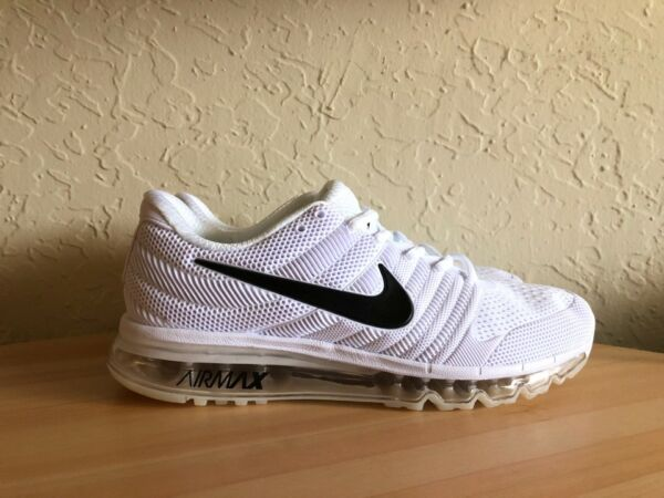 NEW Nike Air Max 2017 White Men's Running Shoes US 11