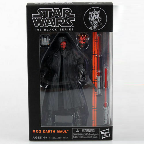 Darth Maul:Star wars the Black Series 6quot;Action Figure Xmas Collection Gift $22.38