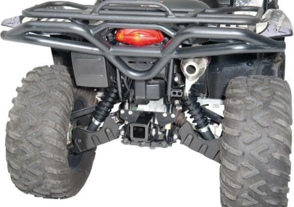 Moose 2quot; Rear Receiver Hitch for Suzuki 2005 14 King Quad 450 500 700 750 AXi $79.95