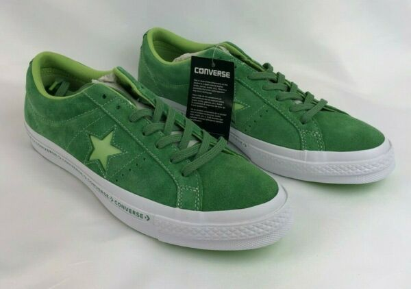 Converse One Star Pinstripe Ox Mens Multi Size Mint Green Lime 159816C