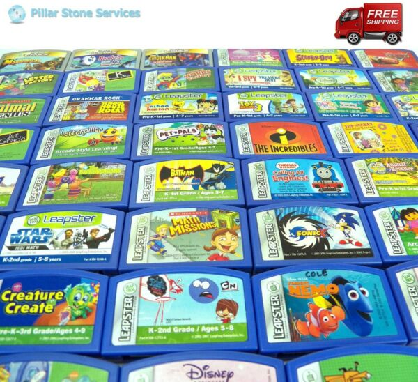 Leap Frog Leapster 2 L-Max Learning Game Cartridge - Your Choice - FREE SHIPPING $9.49